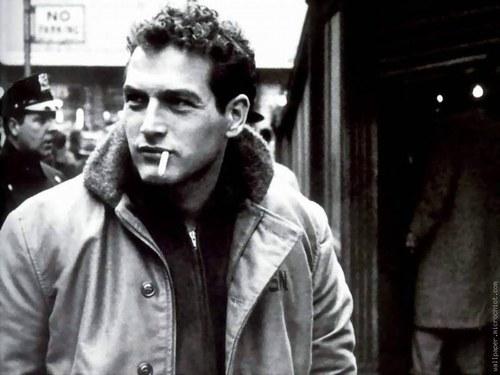 """Paul Newman al rodatge del film """"El buscavides"""""""