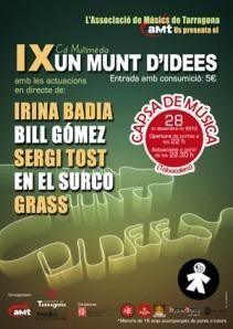 Cartell del concert presentació del CD