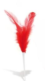 ploma vermella