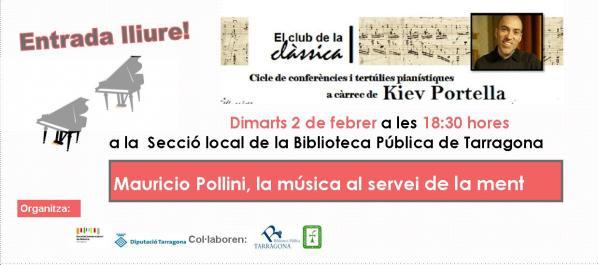 flyer FEBRER Mauricio Pollini KIEV PORTELLA